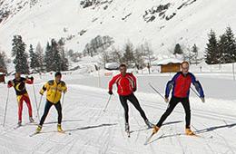 Activité sport : ski de fond