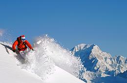 Activité sport : ski free ride