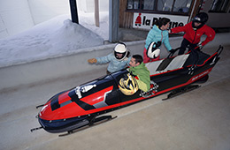 Activité sport : bobsleigh