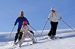 Activité sport : ski alpin